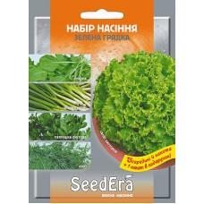Набір насіння Зелена грядка 4 + 1 SeedEra