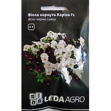 Віола Коріна F1 біло-чорна 10шт LEDAAGRO