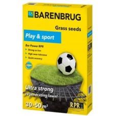 Насіння газонної трави Barenbrug Універсально-Спортивна  Bar Power RPR 1кг Голландія