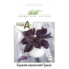 Базилік кімнатний фіолетовий Гранат 0,3г ТМ Професійне насіння