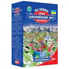 Насіння газонної трави Альпійський луг 200г