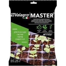 Добриво Valagro Мастер для Розсади овочів і квітів 25г